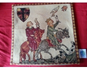 Belgian tapestry cushion cover