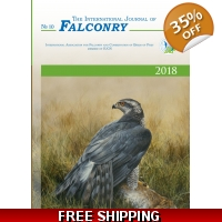 !!PRE-ORDER!! - 2018 ed. of The International Journal of Falconry