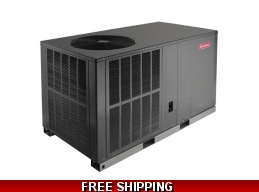 3 Ton 16 SEER Package Unit Heat Pump Air Conditioner by Goodman