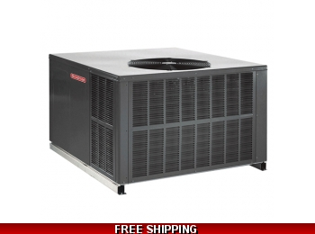 2.5 Ton 15.5 SEER Package Unit AC with 80K Gas Pack by Goodman