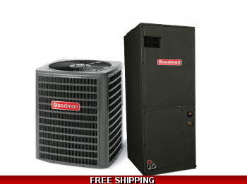 2.5 Ton 15 SEER Central Air Conditioner System Goodman GSX14/ASPT