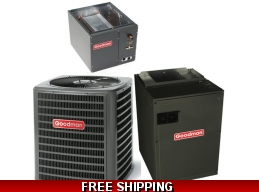 3 Ton 18 SEER Central Air Conditioner System Goodman DSXC/CAPF/MBVC