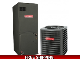 3 Ton 14 SEER Heat Pump and Air Conditioning System GSZ14/ARUF