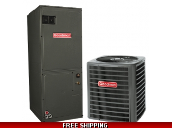 2 Ton 14 SEER Heat Pump and Air Conditioning System GSZ14/ARUF
