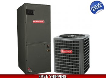 3.5 Ton 14 SEER Heat Pump and Air Conditioning System GSZ14/ARUF