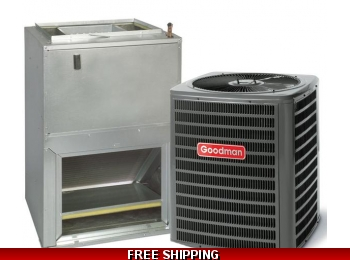 2 Ton 15 SEER Heat Pump and Air Conditioning System GSZ14/AWUF