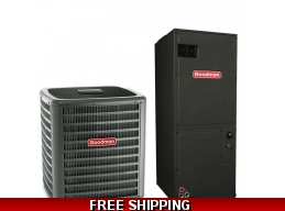 3.5 Ton 14 SEER Heat Pump and Air Conditioning System GSZ14/ASPT