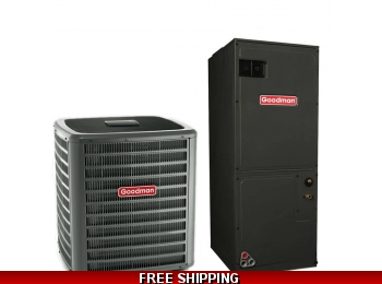 2 Ton 15 SEER Heat Pump and Air Conditioning System GSZ14/ASPT