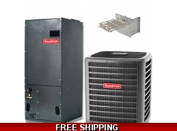 2.5 Ton 15 SEER Heat Pump and Air Conditioning System GSZ14/AVPTC