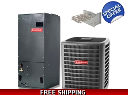 4 Ton 15 SEER Heat Pump and Air Conditioning Sys..