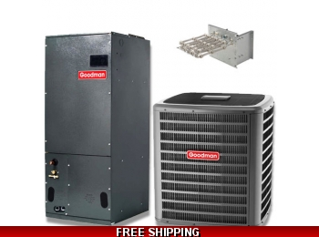 4 Ton 15 SEER Heat Pump and Air Conditioning System GSZ14/AVPTC