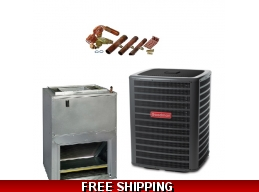 2.5 Ton 15 SEER Heat Pump and Air Conditioning System GSZ16/AWUF