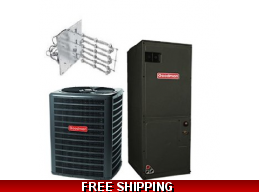 2 Ton 15 SEER Heat Pump and Air Conditioning System GSZ16/ASPT