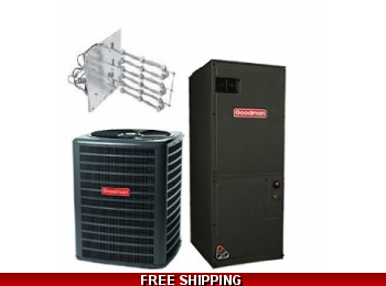 1.5 Ton 16 SEER Heat Pump and Air Conditioning System GSZ16/ASPT