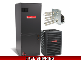 5 Ton 16 SEER Heat Pump and Air Conditioning System DSZC16/AVPTC