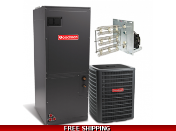 2 Ton 16 SEER Heat Pump and Air Conditioning System DSZC16/AVPTC