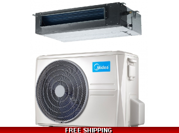 Midea Premier 2 Ton 20.5 Seer Ducted Heat Pump and Cooling System