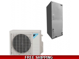 Daikin 2 Ton 19 Seer Ducted Heat Pump and Cooling System