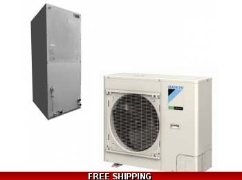 Daikin 2.5 Ton 19.5 Seer Ducted Heat Pump and Cooling System