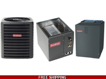 2 Ton 16 SEER Heat Pump and Air Conditioning System DSZC16/CAPF/MBVC