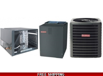 4 Ton 18 SEER Heat Pump and Air Conditioning System DSZC18/CHPF/MBVC