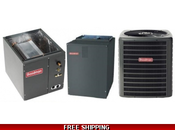 4 Ton 18 SEER Heat Pump and Air Conditioning System DSZC18/CAPF/MBVC