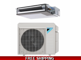 Daikin 3/4 Ton 15 Seer Ducted Heat Pump and Cooling System