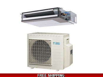 Daikin 1.5 Ton 17.5 Seer Ducted RZR and FBQ Series Cooling Only System