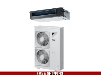 Daikin 3 5 Ton 16 Seer Ducted RZR and FBQ Series Cooling Only System