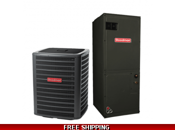 3 Ton 17.5 SEER Heat Pump and Air Conditioning System DSZC18/AVPTC