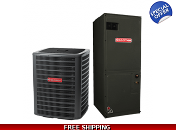 4 Ton 17.5 SEER Heat Pump and Air Conditioning System DSZC18/AVPTC