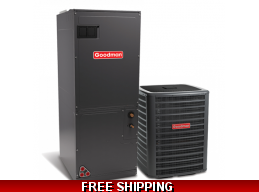 1.5 Ton 16 SEER Heat Pump and Air Conditioning System GSZ16/AVPTC
