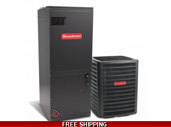 2.5 Ton 16 SEER Heat Pump and Air Conditioning System GSZ16/AVPTC