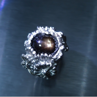 11cts Black ray star sa..