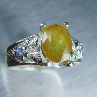 2.60cts Natural yellow ..