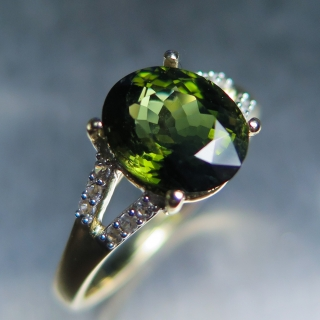2.90cts Natural Green T..
