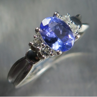 0.85ct Natural Blue Tan..
