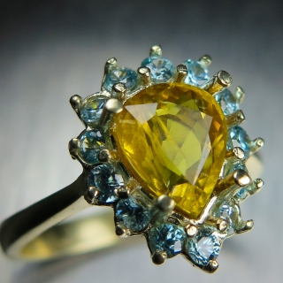 1.75cts Natural Yellow ..