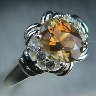 1.40cts Natural Bi-colour Andalusite 9..