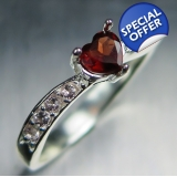 Natural Garnet Spessartines Dark Red &..