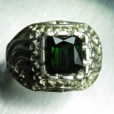 2.5ct Natural dark chrome green tourma..