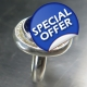 11.65cts Natural Royal blue sapphire Sterling .925 Silver ring