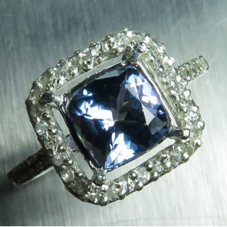 1.65ct Natural blue Tan..