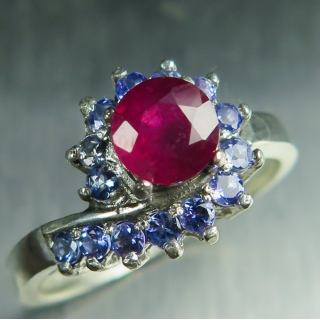 1.15ct Natural red Ruby..