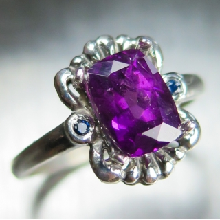 2.5ct Natural Purple Gr..