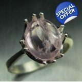 3.50cts Natural pink morganite 925 Ste..