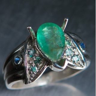 Natural Colombian Emerald &Alexandrite..