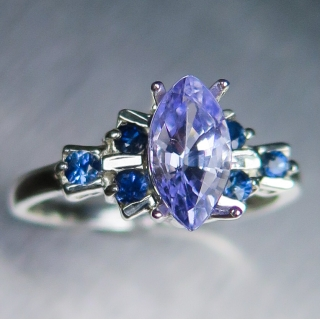 1.16ct Natural Lavender..