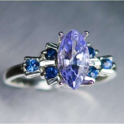 ca engagement ring listing eidelprecious rings lavender by sapphire oval rose il gold purple