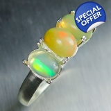 1.45ct Natural Welo Opal multi-colour ..